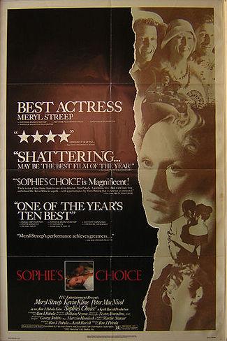 Saturday Movies Sophie's Choice