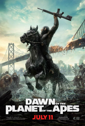 Saturday Movies Dawn of the Planet of the Apes