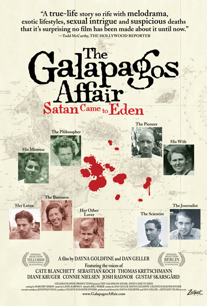 Saturday Movies The Galapagos Affair