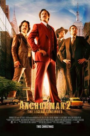 Saturday Movies Anchorman 2