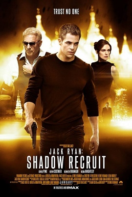 Saturday Movies Jack Ryan Shadow Recruit
