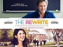 Saturday Movies The Rewrite